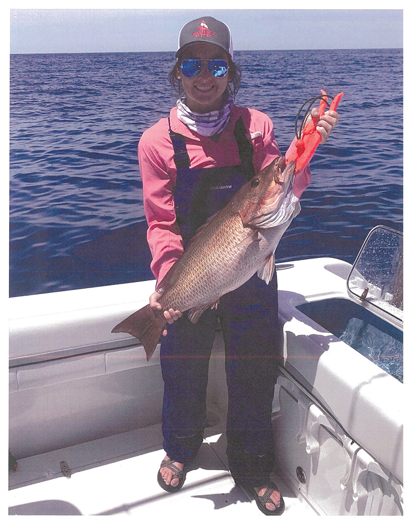 Lindsey Paulk with Gray Snapper